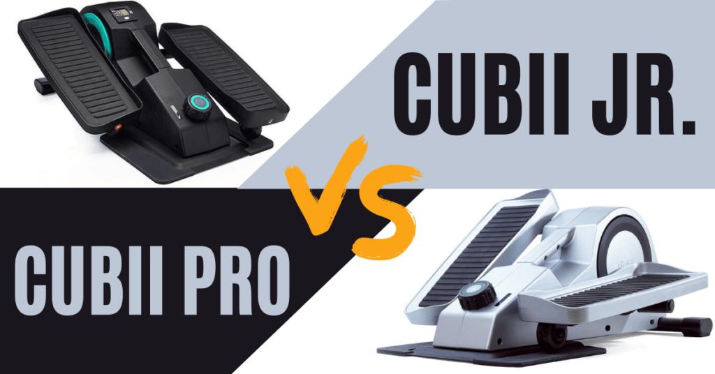 Cubii Pro vs Cubii Jr